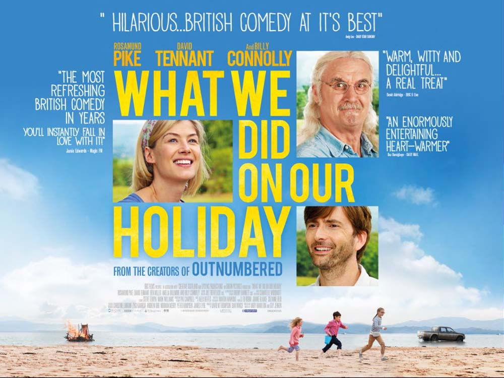 Cinema by the Sea presents What We Did on Our Holiday (12A)