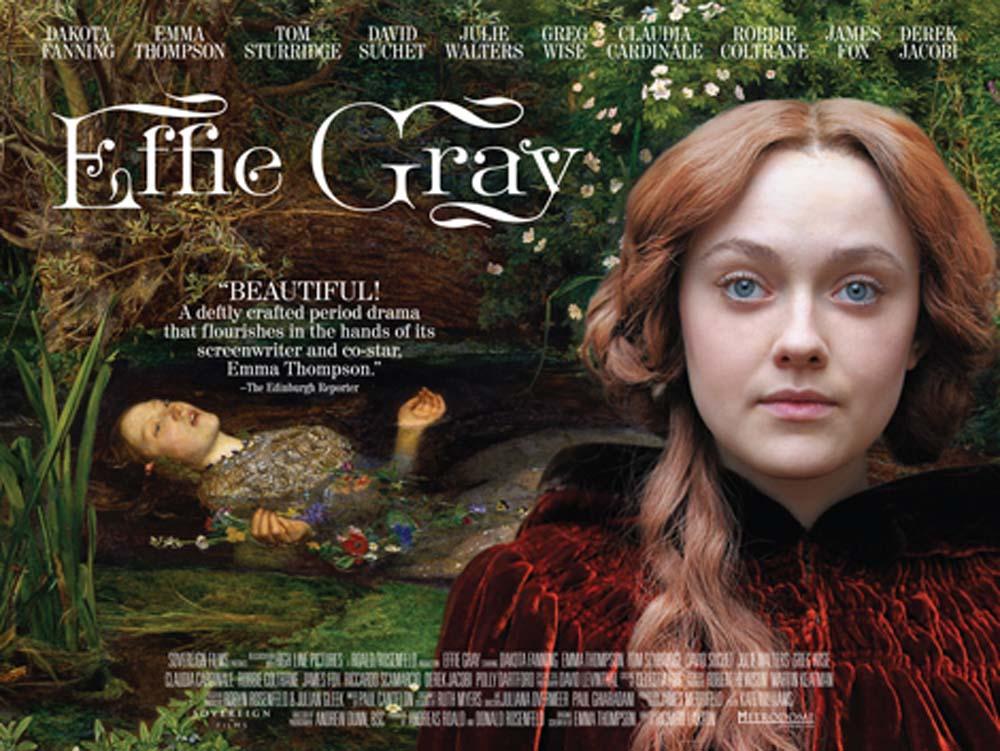 Cinema by the Sea presents Effie Gray (12A)