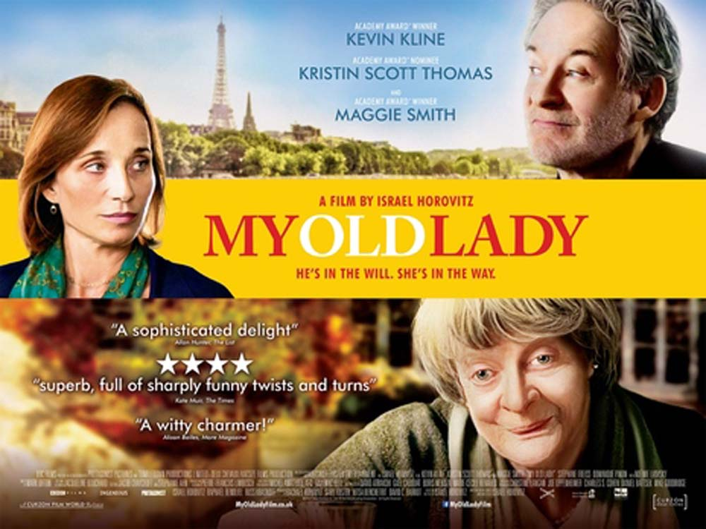 Cinema by the Sea presents My Old Lady (12A)
